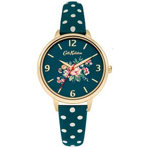 Cath Kidston Ladies' Green PU Strap Watch - Product number 5321883