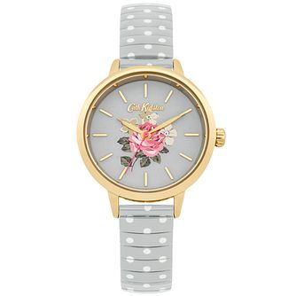 Cath Kidston Ladies' Grey Stainless Steel Expanding Watch - Product number 5321921