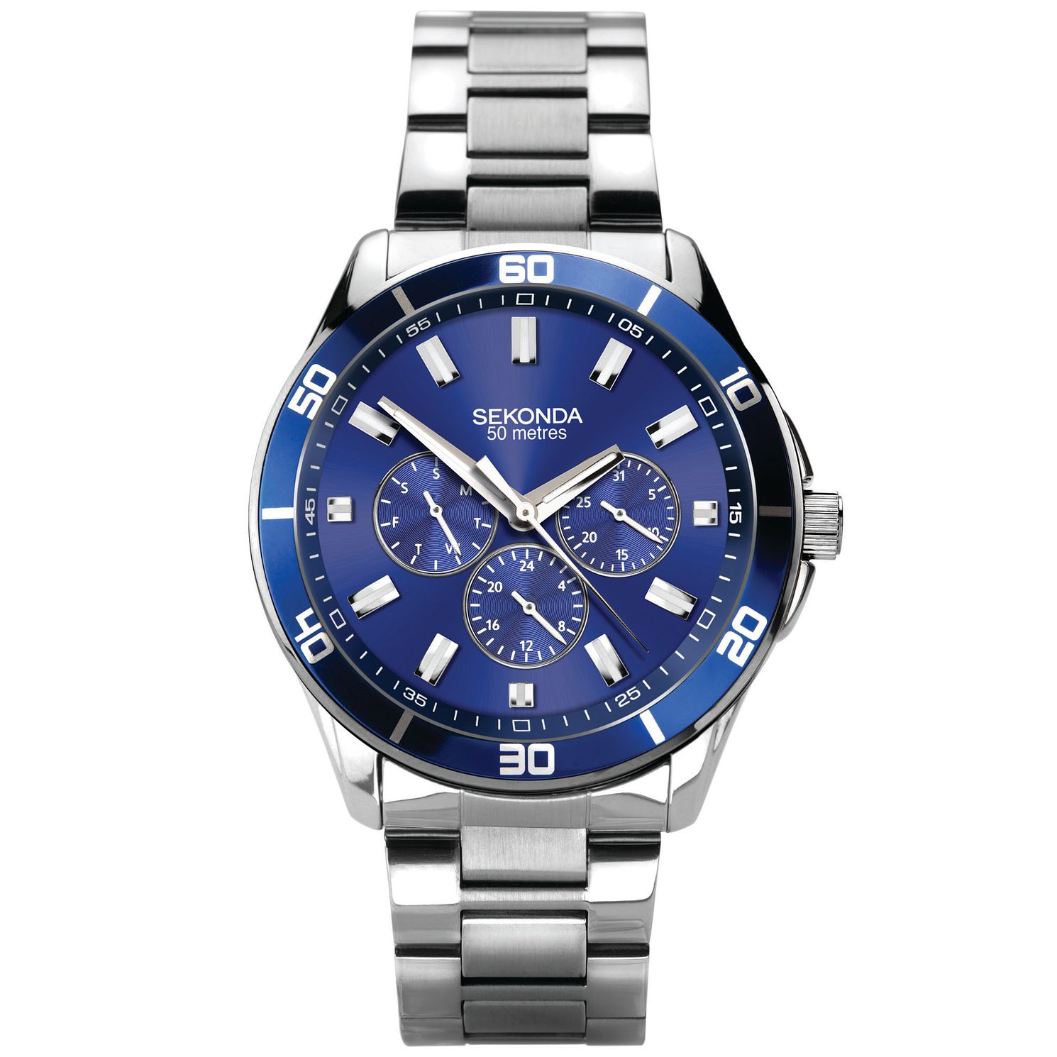 Sekonda Men's Stainless Steel Bracelet Watch - Product number 5322324