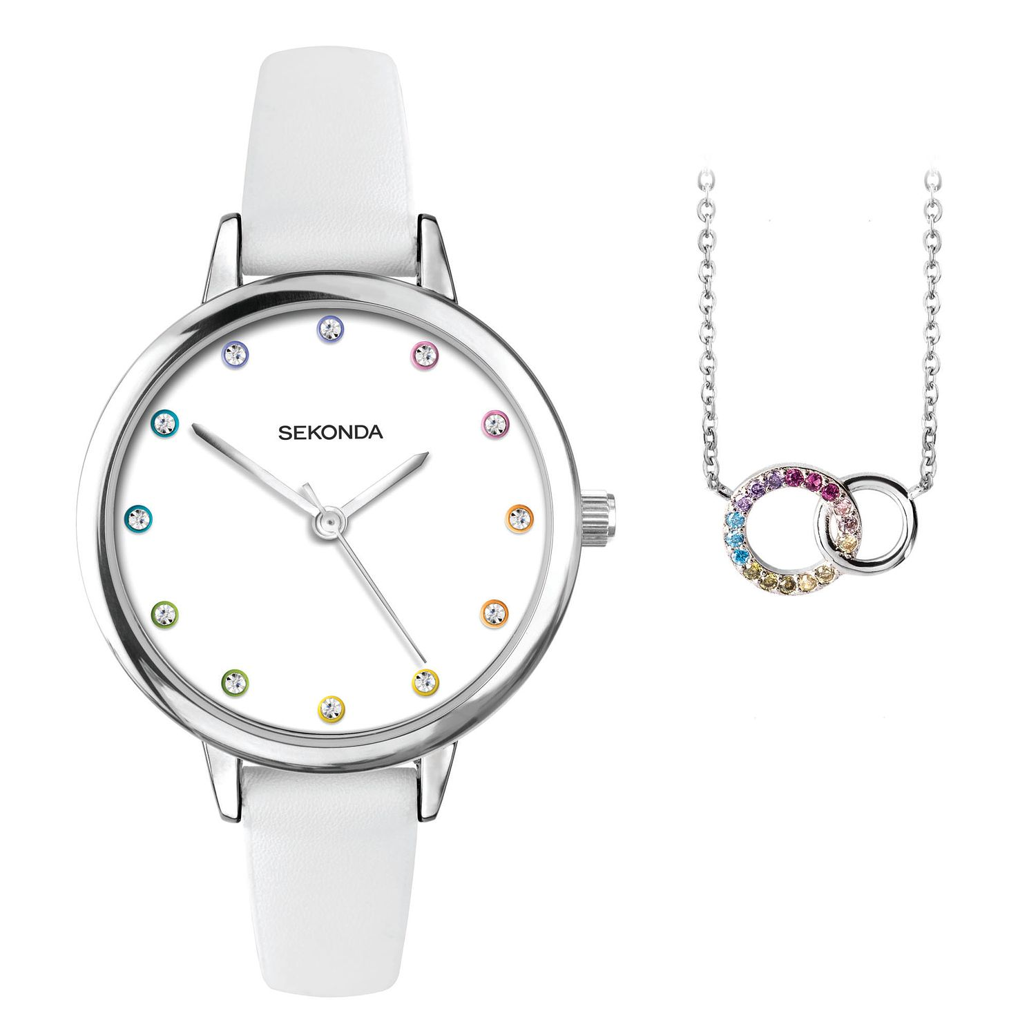 Sekonda Editions Ladies' Watch & Pendant Gift Set - Product number 5322332