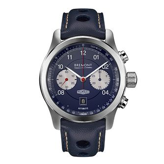 Bremont Jaguar D-Type Limited Edition Leather Strap Watch - Product number 5326281