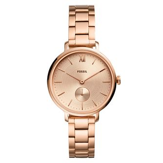 Fossil Kalya Ladies' Rose Gold Tone Bracelet Watch - Product number 5326400