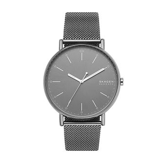 Skagen Signatur Men's Stainless Steel Mesh Bracelet Watch - Product number 5326613