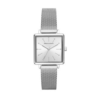 Armani Exchange Ladies' Stainless Steel Mesh Bracelet Watch - Product number 5326702
