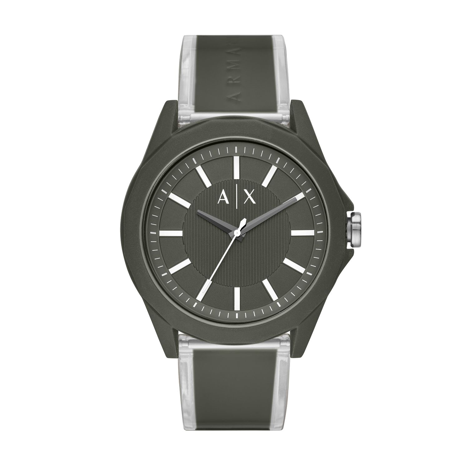 Armani Exchange Men's Black Two Tone Resin Strap Watch - Product number 5326753