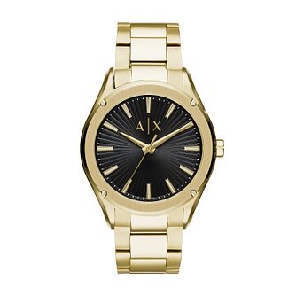Armani Exchange Men's Gold Tone Bracelet Watch - Product number 5326788