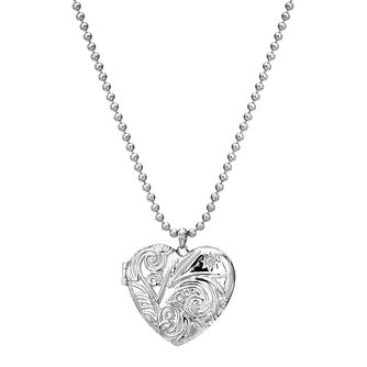 Hot Diamonds Memo Silver Diamond Ladies' Heart Locket - Product number 5349443