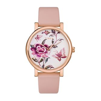 Timex Full Bloom Ladies' Pink Leather Strap Watch - Product number 5361621