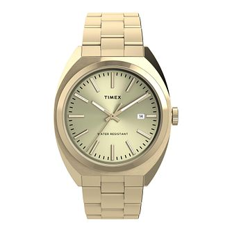 Timex Milano XL Ladies' Gold Tone Bracelet Watch - Product number 5361966