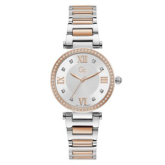 Gc Ladies' Two Tone Bracelet Watch - Product number 5363519