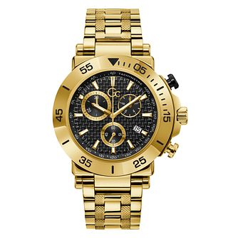 Gc Men's Gold Tone Bracelet Watch - Product number 5363608