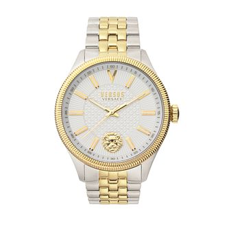 Versus Versace Colonne Men's Two Tone Bracelet Watch - Product number 5363624