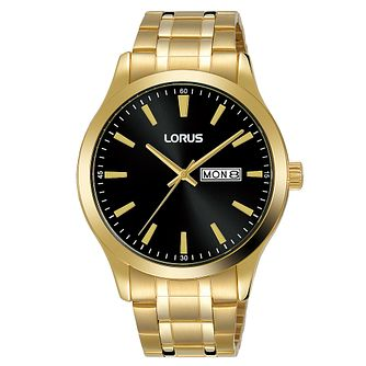Lorus Gold Two Tone Stainless Steel Bracelet Dress Watch - Product number 5378168