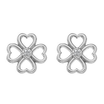 Hot Diamonds Lucky in Love Diamond Stud Earrings - Product number 5391113