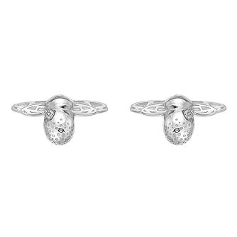Hot Diamonds Honey Bee Silver & Diamond Stud Earrings - Product number 5391164