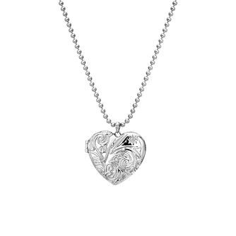 Hot Diamonds Memories Engraved Heart Locket - Product number 5391253