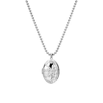 Hot Diamonds Memories Engraved Oval Locket - Product number 5391318