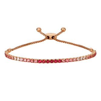 Le Vian 14ct Strawberry Gold Ruby Adjustable Bracelet - Product number 5391377