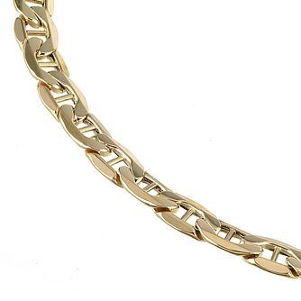 9ct Yellow Gold 8 Inch Marina Chain Bracelet - Product number 5394686
