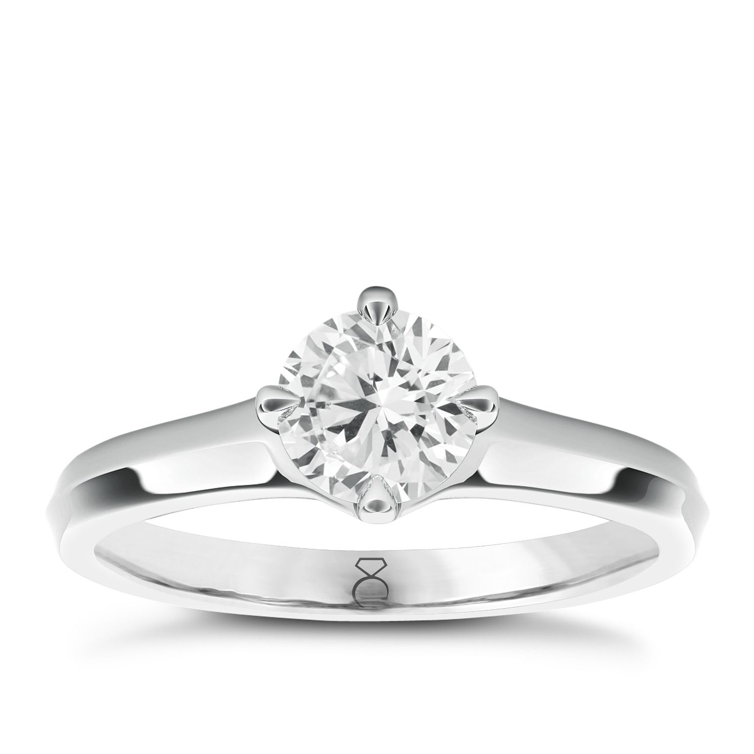 The Diamond Story 18ct White Gold 1/4ct Diamond Ring - Product number 5417643