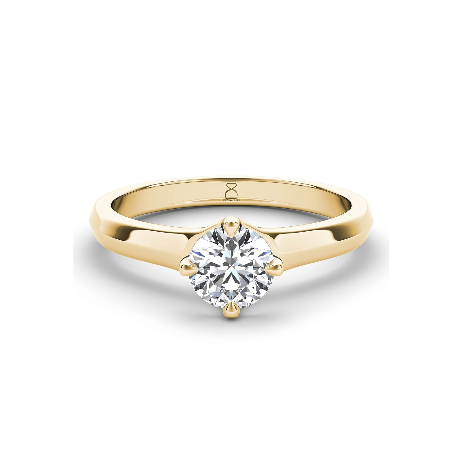 The Diamond Story 18ct Yellow Gold 1/4ct Diamond Ring - Product number 5419093