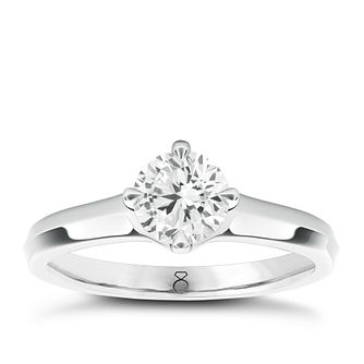 The Diamond Story 18ct White Gold 1/3ct Solitaire Ring - Product number 5423120