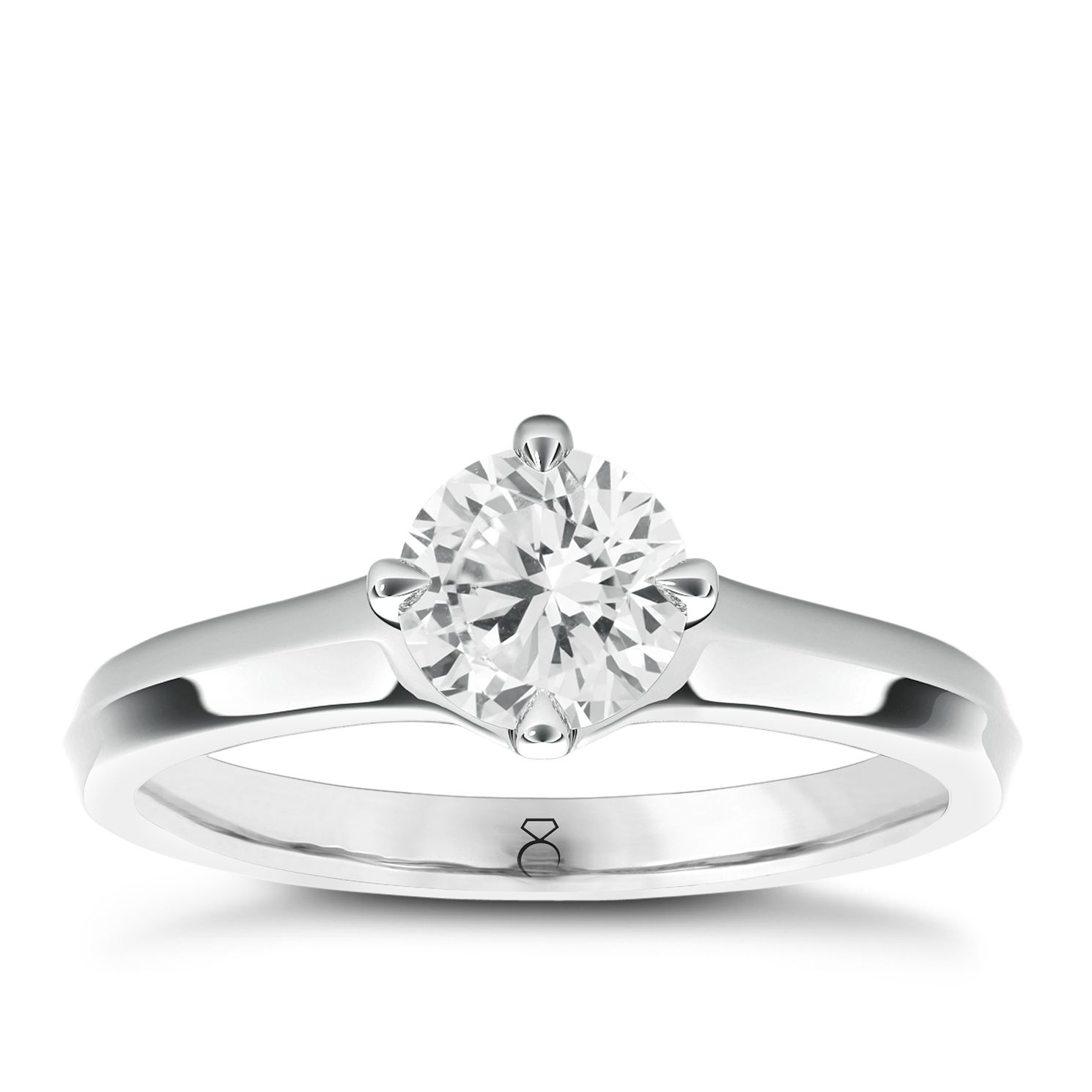 The Diamond Story 18ct White Gold 0.50ct Diamond Ring - Product number 5424135