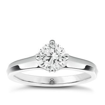 The Diamond Story 18ct White Gold 1/2ct Diamond Ring - Product number 5424135