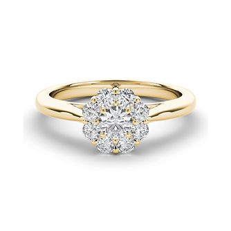 The Diamond Story 18ct Yellow Gold 0.50ct Total Diamond Ring - Product number 5427940