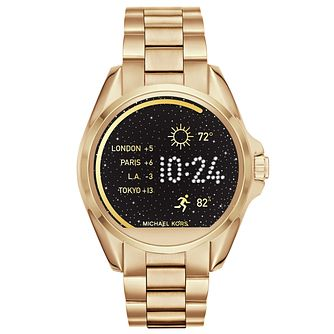 Michael Kors Access Bradshaw Ladies' Gold Tone Smartwatch - Product number 5430887