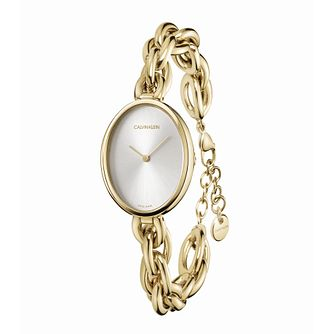 Calvin Klein Statement Gold Tone Bracelet Watch - Product number 5436931