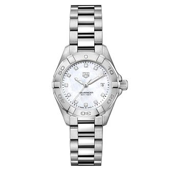 TAG Heuer Aquaracer Diamond Ladies' Bracelet Watch - Product number 5446694