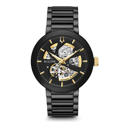 Bulova Men's Modern Automatic Ion Plated Bracelet Watch - Product number 5446910