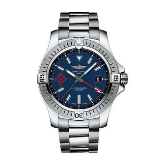 Breitling Avenger Automatic GMT 45 Red Arrows Bracelet Watch - Product number 5447321