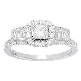 Neil Lane Bridal 14ct White Gold 0.90ct Total Diamond Ring - Product number 5518091
