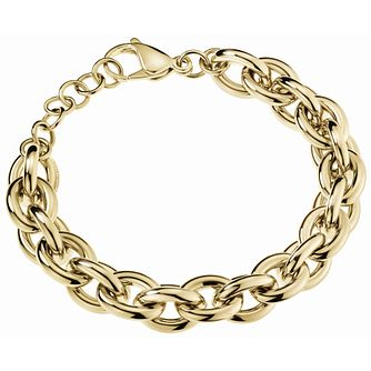 Calvin Klein Statement Gold Tone Heavy Chain Bracelet - Product number 5520002