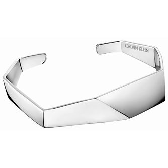 Calvin Klein Origami Silver Tone Bangle - Product number 5520118