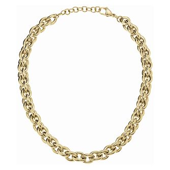 Calvin Klein Statement Gold Tone Heavy Chain Necklace - Product number 5520142