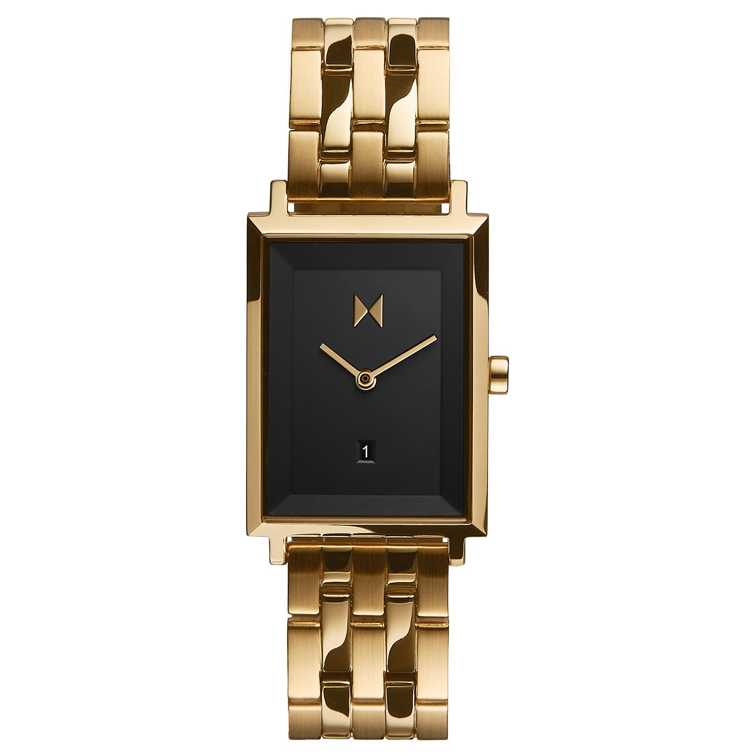 MVMT Mason Signature Square Gold Tone Bracelet Watch - Product number 5524520