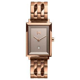 MVMT Hayden Signature Square Rose Gold Tone Bracelet Watch - Product number 5524555
