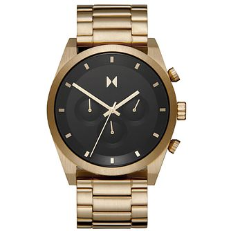 MVMT Atomic Gold Men's Gold Tone Bracelet Watch - Product number 5524598
