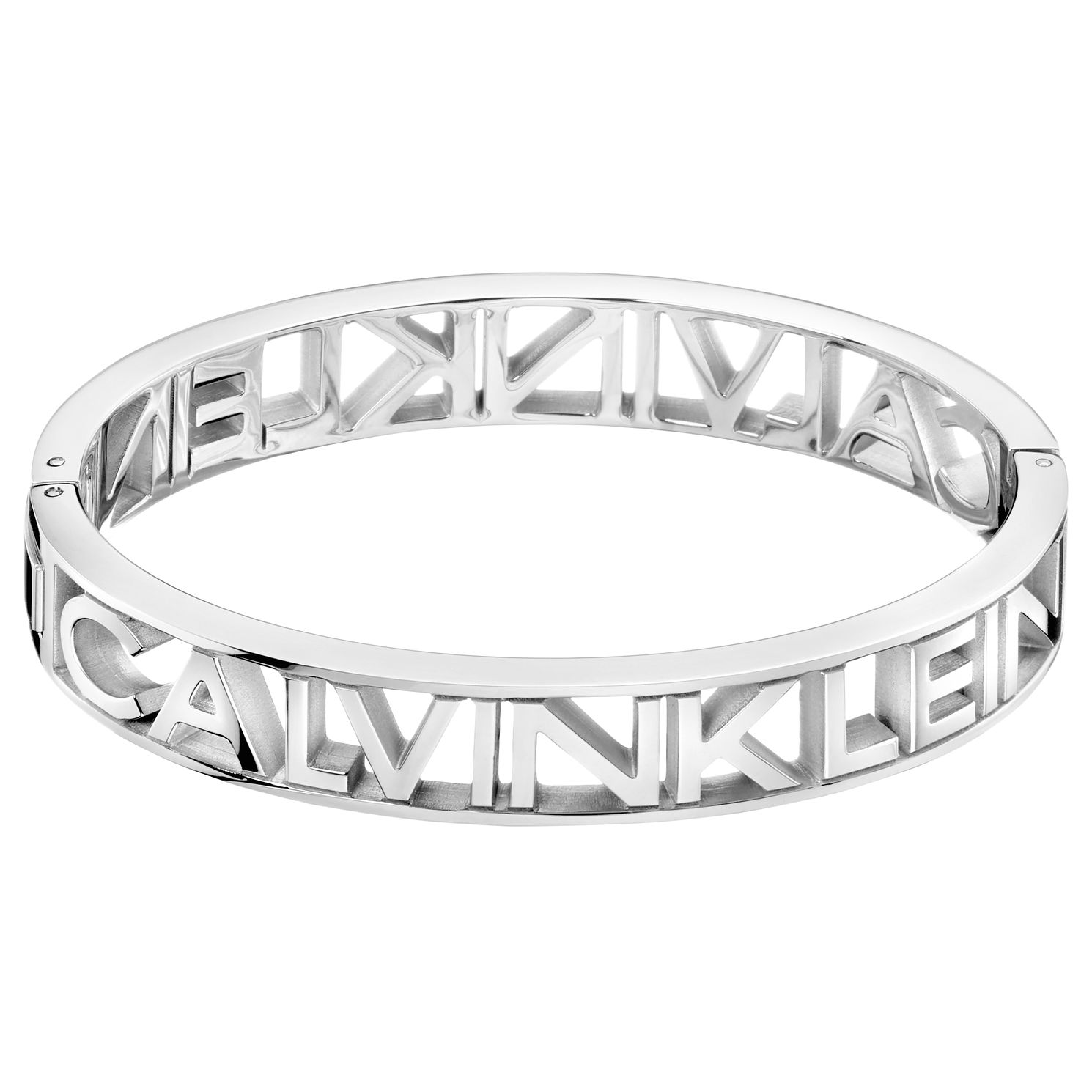 Calvin Klein Mania Stainless Steel Closed Bangle Bracelet - Product number 5524865