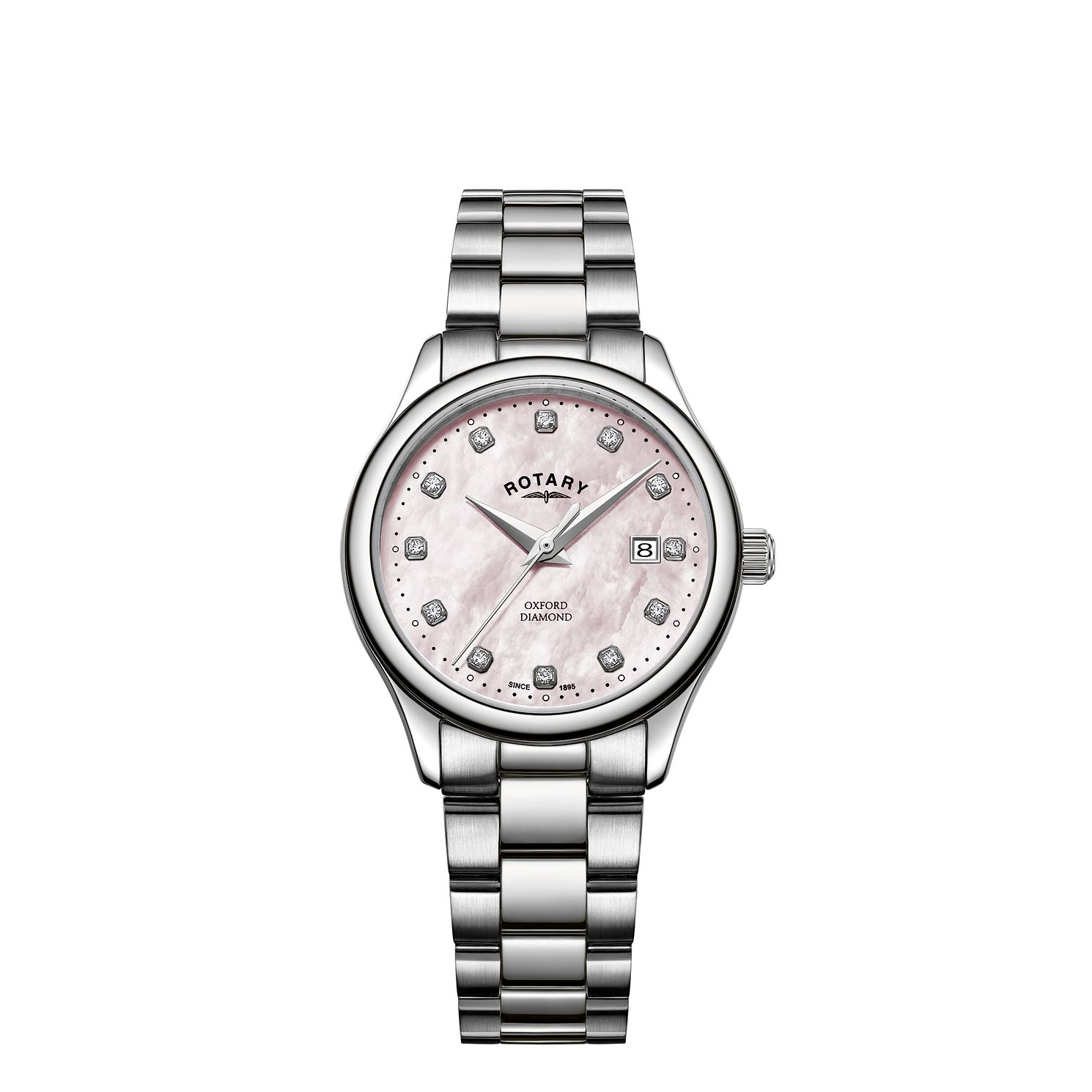 Rotary Oxford Diamond Ladies' Stainless Steel Bracelet Watch - Product number 5525306
