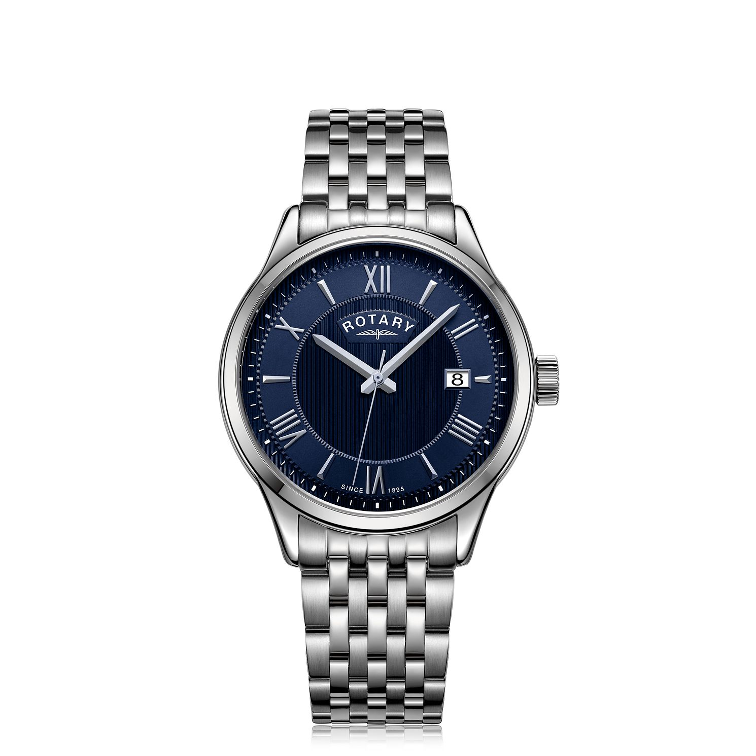 Rotary Men's Stainless Steel Bracelet Watch - Product number 5525578