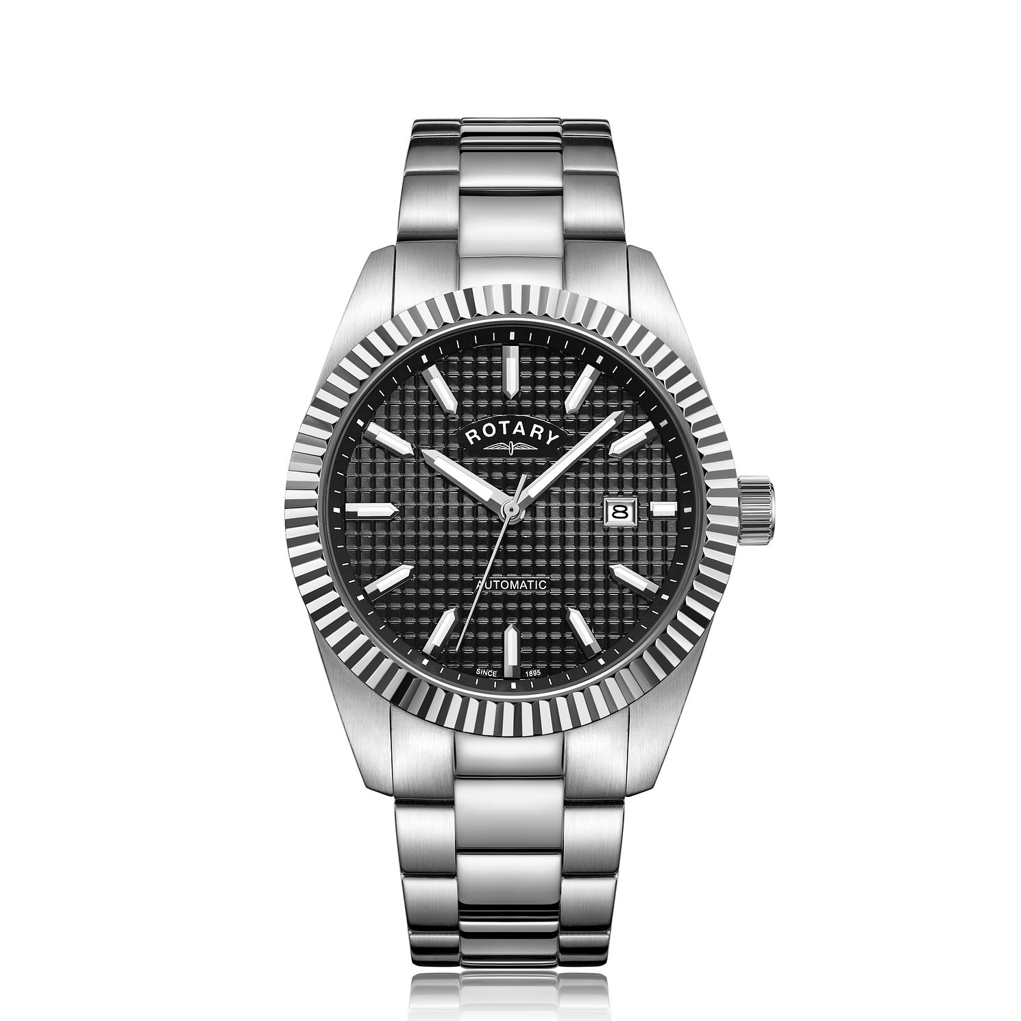 Rotary Men's Stainless Steel Bracelet Watch - Product number 5525594