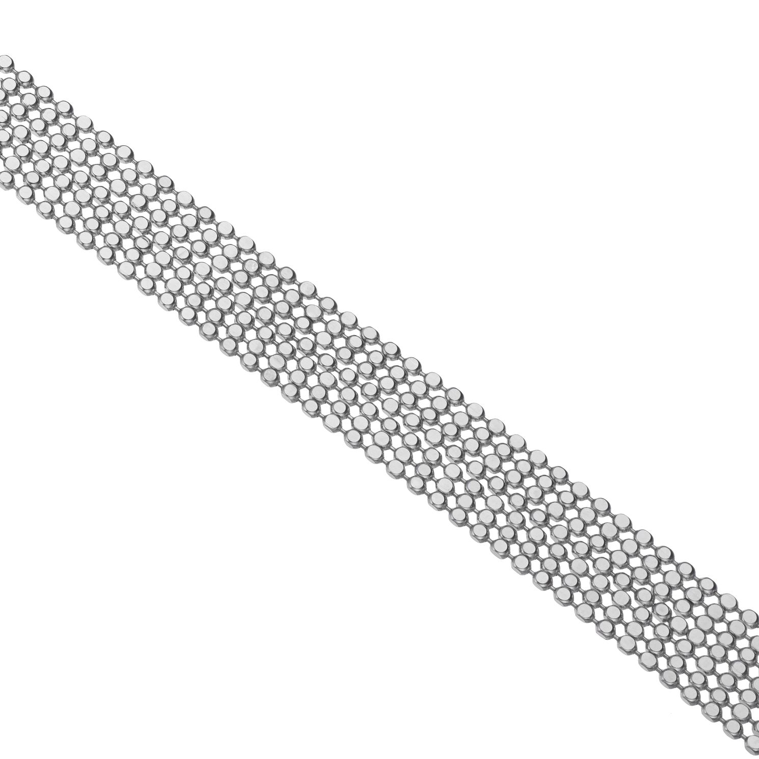 Silver Multi-Strand Round Bracelet - Product number 5526779