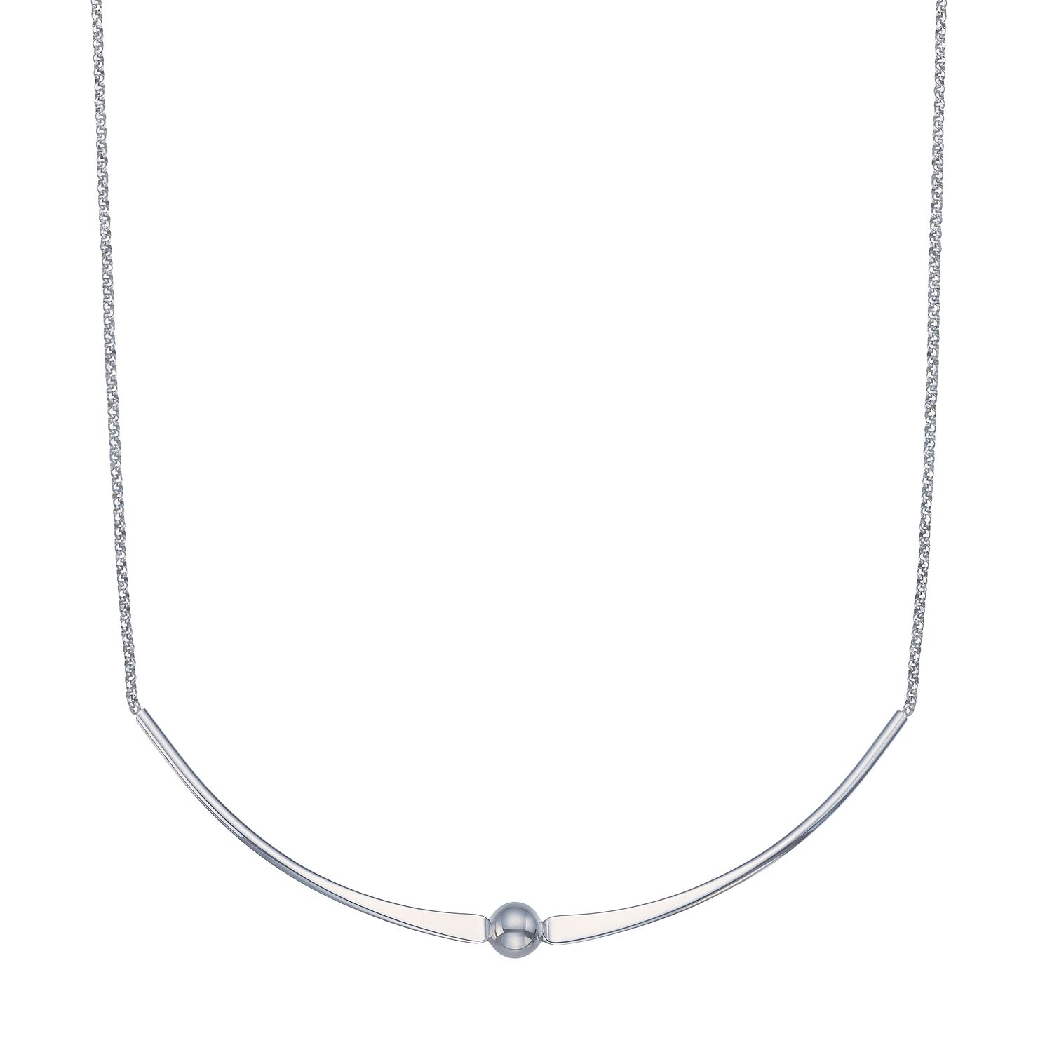 Silver Ball Necklace - Product number 5527341