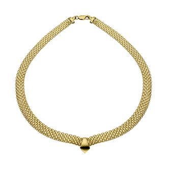 9ct Yellow Gold 17 Inch Collar Necklace - Product number 5588685