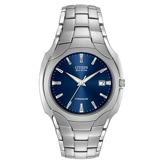 Citizen Eco-Drive Super Titanium™ Bracelet Watch - Product number 5693438