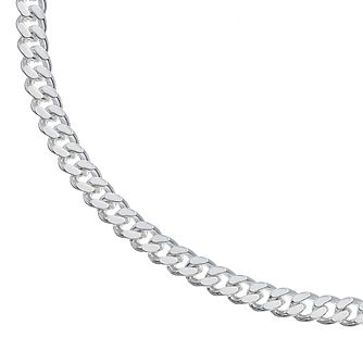 Silver Curb Chain Bracelet - Product number 5694280